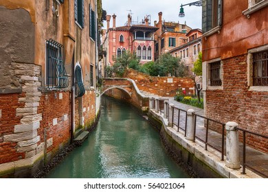 Impression along a Canal in Venice