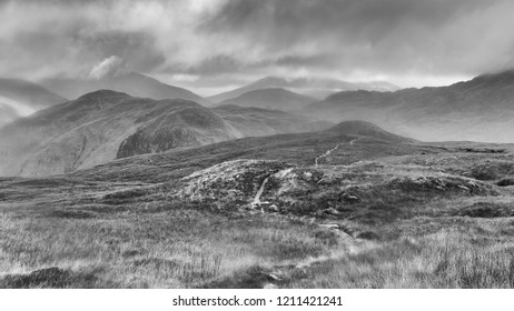 an impression of the Cape Wrath Trail, Hiking Trail