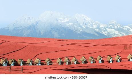impression lijiang show :  Jade dragon snow mountain