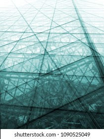 impression of a modern building