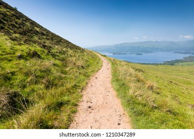an impression of the West Highland Way Trail, Hiking Trail