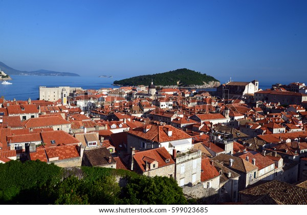 impressions of the marvelous old town od dubrovnik in croatia
