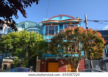 Impressions From Mission District In San Francisco From May 1 2017 California Usa