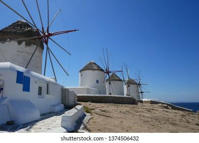 Impressions of Mykonos, Greece