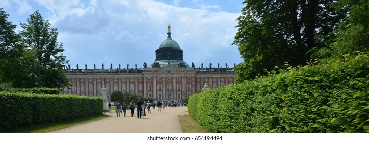 Impressions from the park Sanssouci in Potsdam from June 5, 2017, Brandenburg Germany