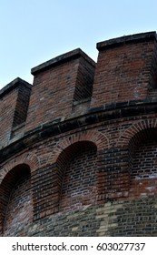 Impressions from the Spandau Citadel in Berlin from April 2, 2015, Germany
