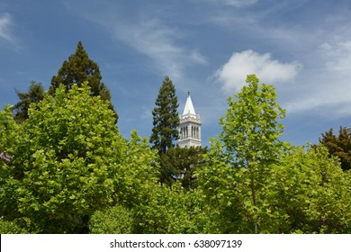 Impressions from the University of California - Berkeley campus from April 25, 2017, USA