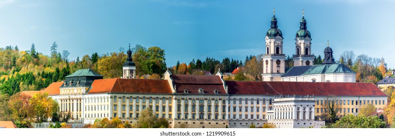 Impressions and Views of the Monastery St. Florian in Upper Austria, near Linz