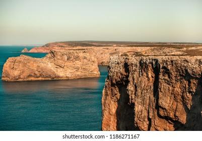 Impressive landscape at algarve portugal