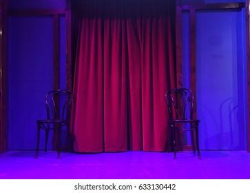 Improv Comedy Stage