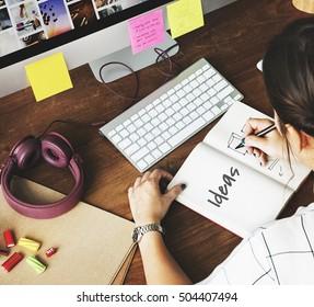 Improve Ideas Inspiration Creative Concept