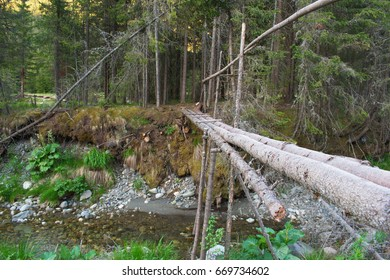 Improvised bridge