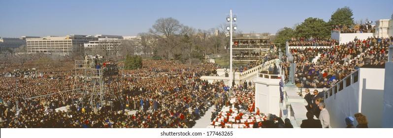 Inauguration of President William Jefferson Clinton, Jan. 30 1993, Washington DC