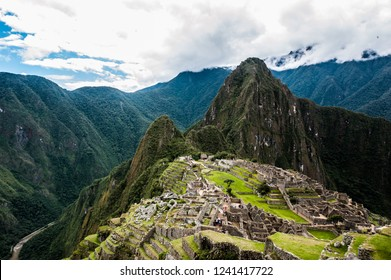 The Inca citadel of Machu Picchu in Peru, South America.