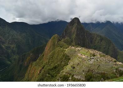 Inca Culture, Machu Picchu Valley, Inca citadel