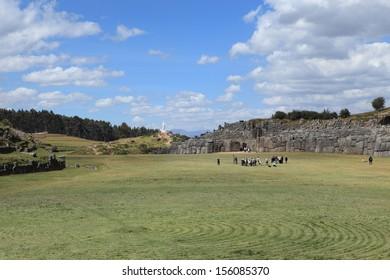 The Inca Fortress Sacsayhuaman