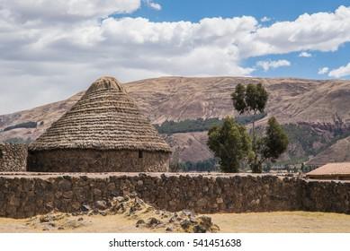 Inca Raqchi Temple, Peru