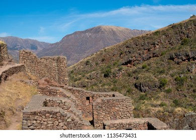 Inca ruins, sacred valley, near Cusco, Peru