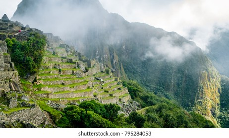 Inca Village in the mountains