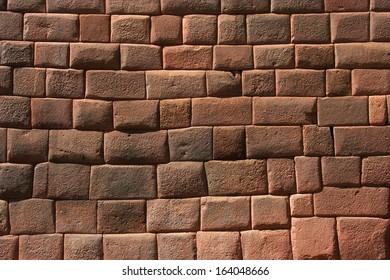 Inca Wall at Machu Pichu
