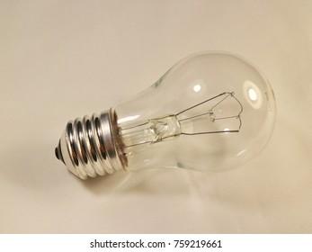 Incandescent lamp 60 watts