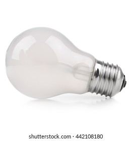 incandescent lamp E27 with frosted glass