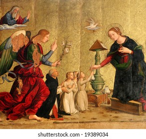 Incarnation paint from ROme - Santa Maria  di Pace