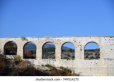 Incekaya aqueduct of Safranbolu district of Karabuk Turkey.