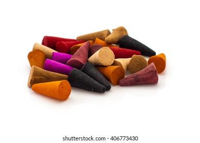 incense aroma colored cone
