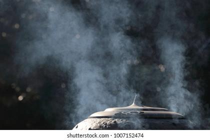 incense burner of japanese temple
