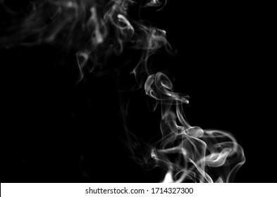 Incense smoke Candle smoke Smoke effect accompanying