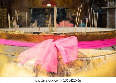 Incense stick Buddha