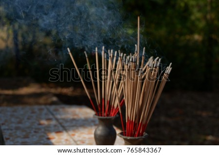 Incense Stick Joss Stick Vase Incense Stock Photo Edit Now