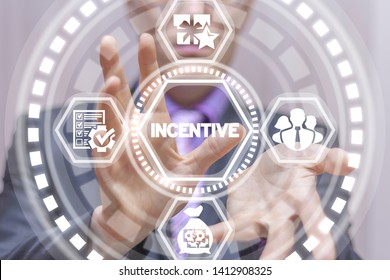 Incentive business finance concept. Incentives program management success efficiency work. Employee motivation and stimulation.