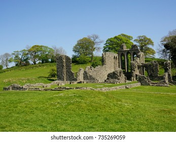 Inch Abbey ruins, Northern Ireland. The Abbey and parts of the surrounding area have been featured as locations in Game of Thrones.