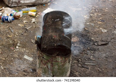 Trash Barrel Images, Stock Photos & Vectors | Shutterstock