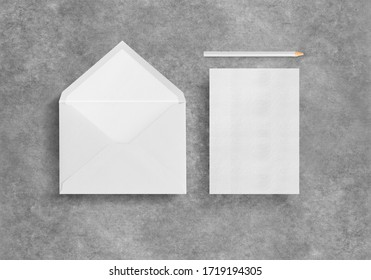 Incitation paper with the envelope