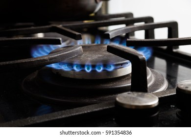 Included gas stove.