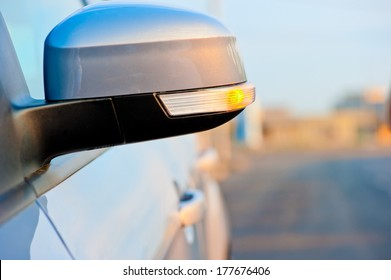 included in the side mirror turn signal