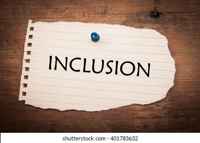 Inclusion word