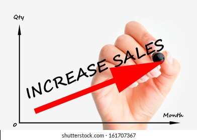 Increase sales graph