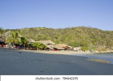 incredible  beach,  la entrega Huatulco, Oaxaca , México