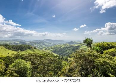 Incredible Nature landscape - region Monteverde - Costa Rica