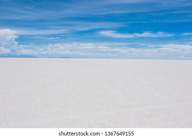 Incredible salt flats in Bolivia