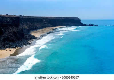 Incredible view at the coastside of lanzarote in nature. Lanzarote. Canary Islands. Spain