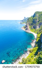 Incredible view from Hyangmok Viewpoint, Taeha, Ullengdo (Ulleung Island), South Korea.