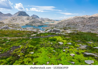 Incredible views of Indian Basin in the Wind River Range of Wyoming
