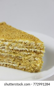 incredibly delicious cake with honey