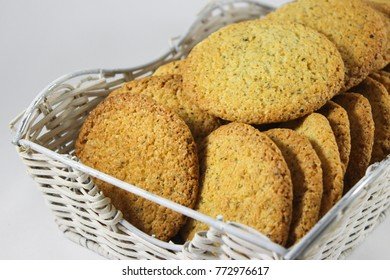 incredibly fragrant mint biscuits