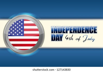 independence day 4th of july, illustration design